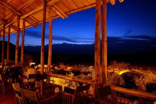 A view over Tsavo West from Kilanguni Serena Lodge