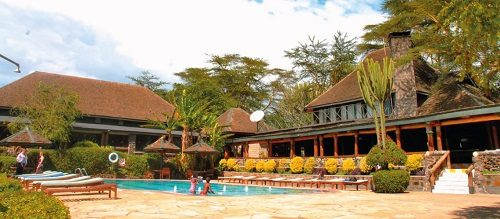A picture of Lake Nakuru Lodge in Lake Nakuru National Park