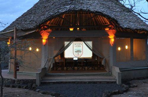 Entrance to the Severin Safari Camp